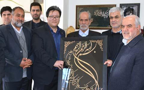 بازدید مدیران شرکت از خانه ی دل ها (آسایشگاه معلولین شهید فیاض بخش)