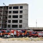 تست و آزمایش اعلام و اطفاء حریق  پروژه های ساختمانی شرکت