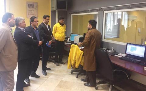 جلسه و بازدید اعضای کمیسیون تبلیغات شرکت الهیه (۹۵/۷/۲۷)