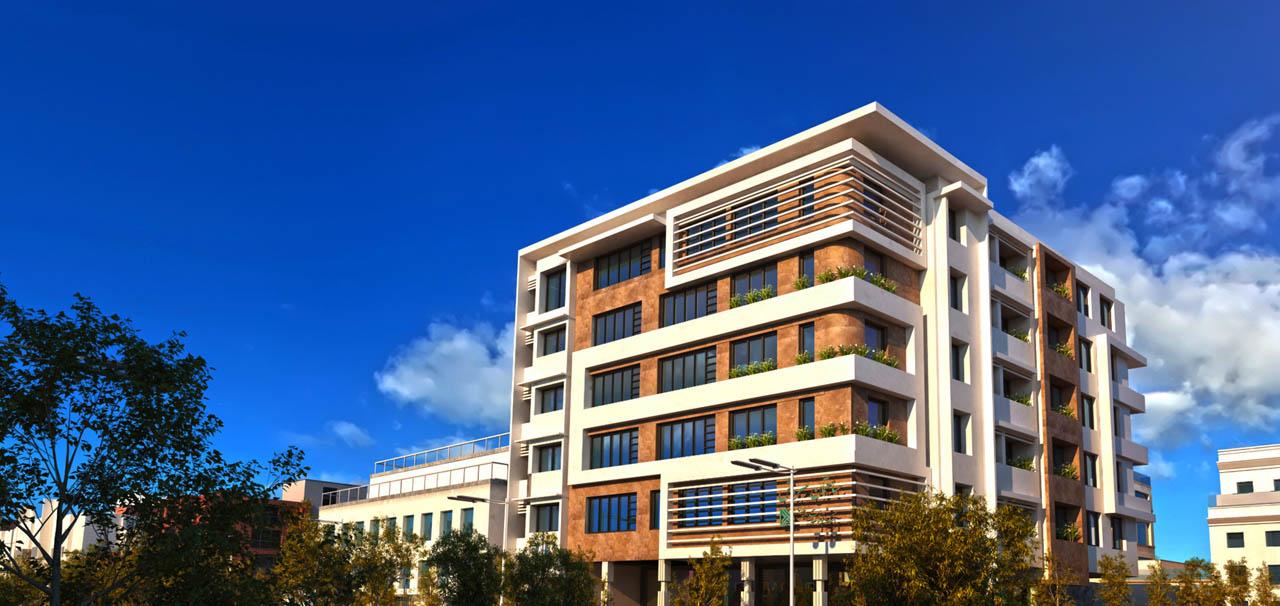 پويانمايي پروژه تجاری مسکونی سروش