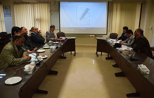 جلسه با مدیرعامل سازمان زمین و مسکن شهرداری