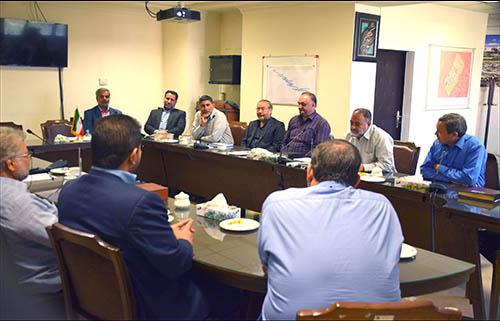 اولین جلسه هیئت مدیره جدید