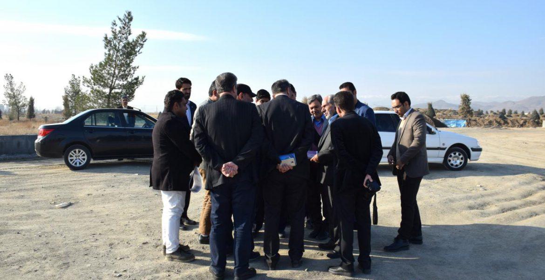بازدید برخی اعضای محترم شورای اسلامی شهر مشهد از پروژه شهر سبز الهیه