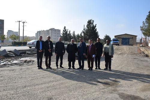 بازدید مدیر عامل سازمان پارک ها از شهر سبز الهیه
