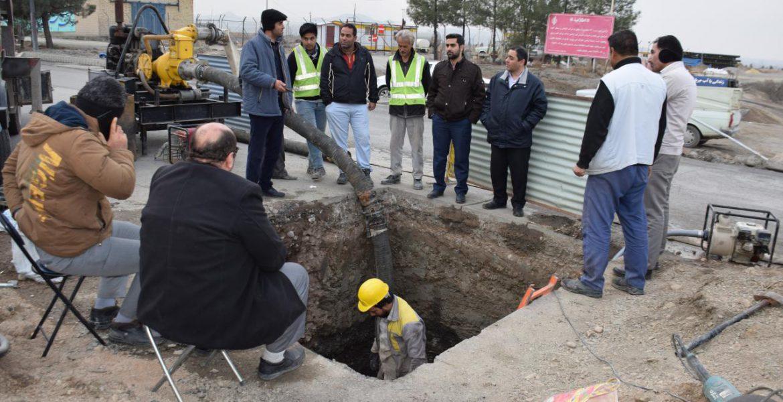 اتصال آب شرب شهر سبز الهیه
